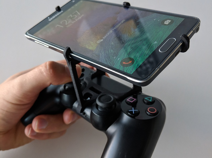 PS4 controller & LG G8 ThinQ - Over the top 3d printed Over the top - top