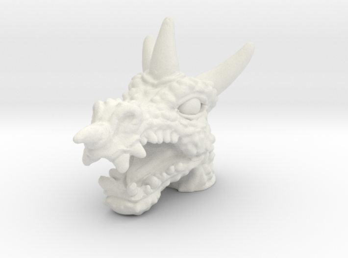 Dragoon Head - Multisize 3d printed