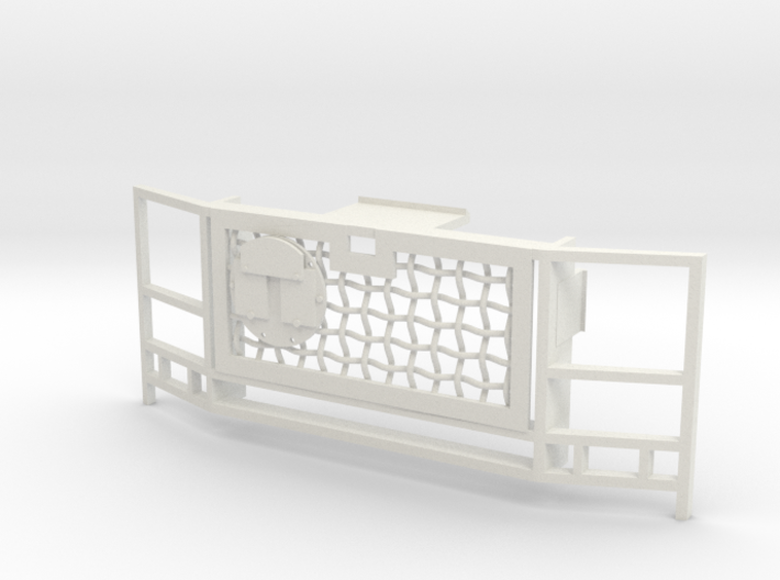 WPL 1/16 Truck Grille C 3d printed