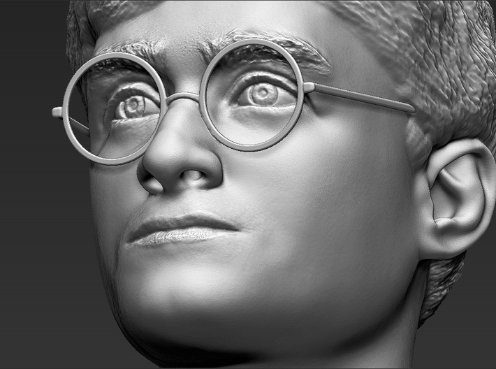 Harry Potter bust 3d printed