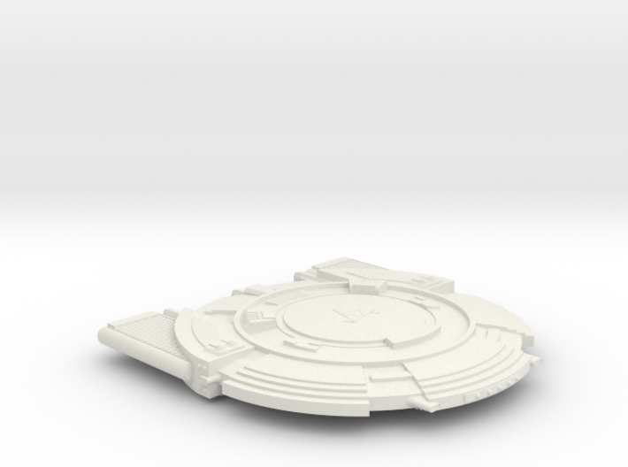3788 Scale Andromedan Dominator Dreadnought SRZ 3d printed