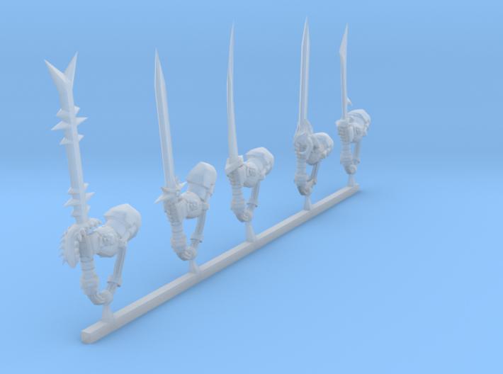 chaos terminator power swords 3d printed