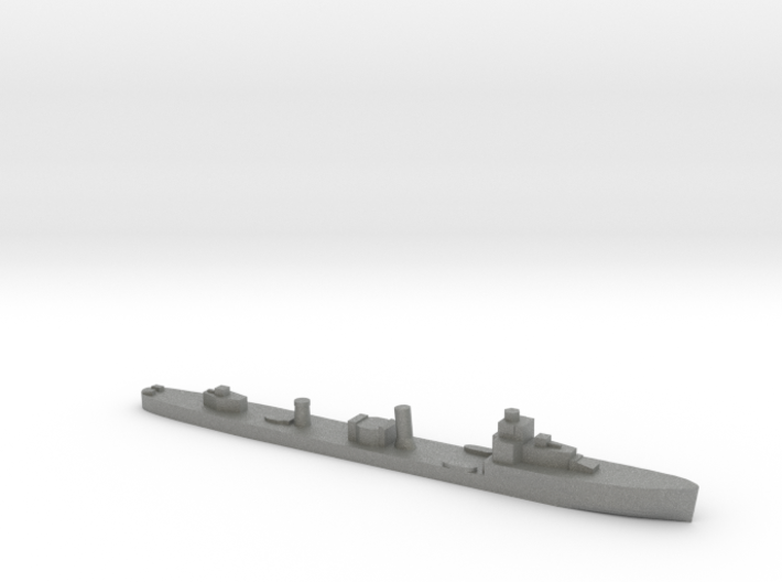 HMS Velox LR Escort 1:3000 WW2 3d printed