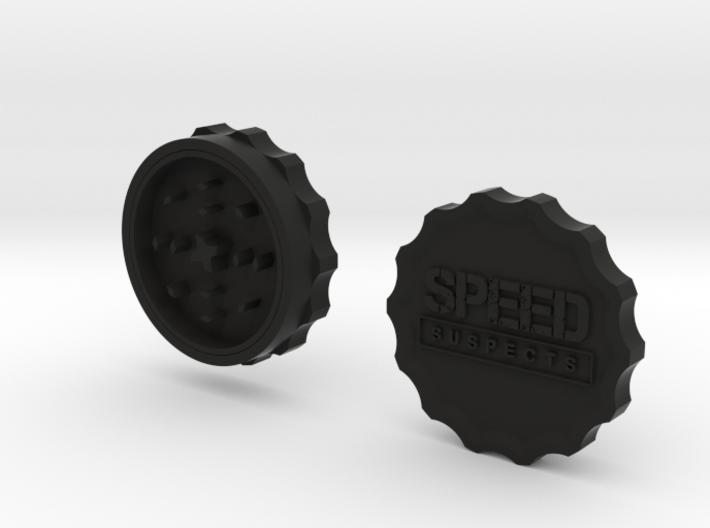 Speed Suspects Herbal Grinder 3d printed