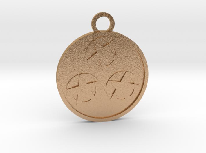 Three of Pentacles 3d printed