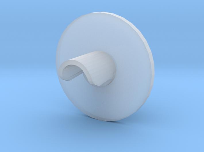 N scale signal for fiber optics 3d printed