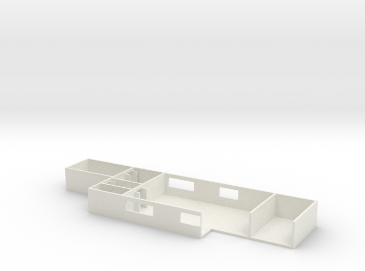 1/87 Scale MASH Main Building Operating Room 3d printed