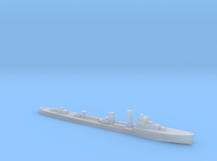 HMS Walpole destroyer-SR escort 1:1800 WW2 3d printed