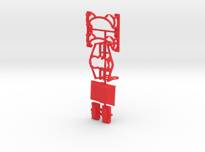 ZOOM H6 Protector set - 6 piece - sprued 3d printed