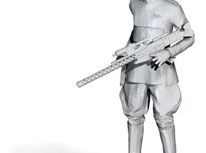 Clone Officer with Rifle 3d printed Clone Officer with Rifle