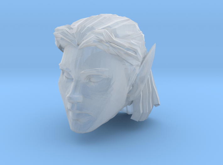 Elf Head Female 2 3d printed Recommended