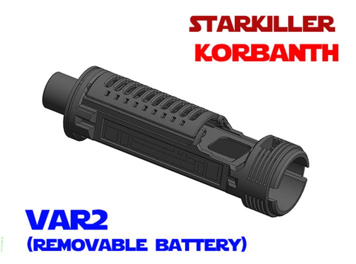 Korbanth Starkiller - Lightsaber Chassis Var2 3d printed