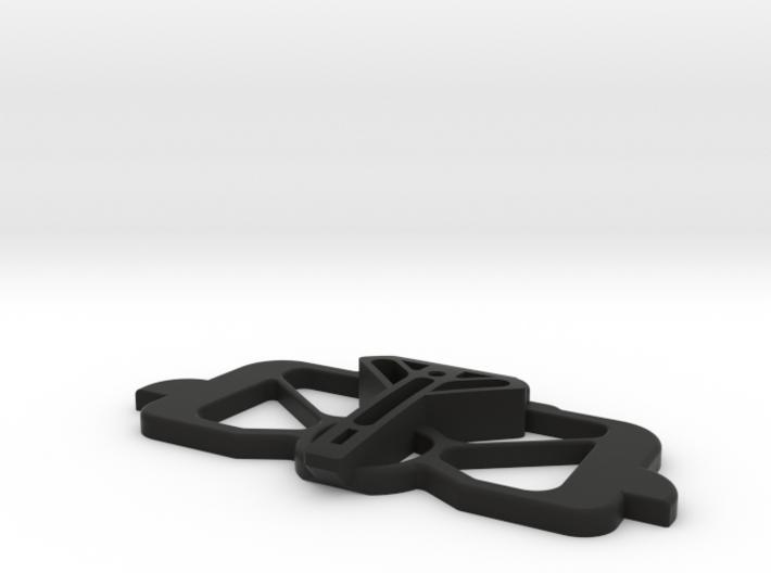 Mavic Air, Mavic 2 Pro/Zoom CrystalSky mount basep 3d printed