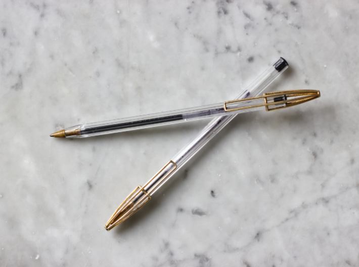 Wire Cap - upgrade your Bic Pen 3d printed