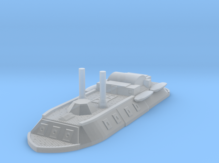 1/1000 City Class Gunboat 3d printed