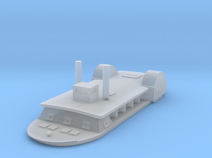 1/1200 USS Tuscumbia 3d printed