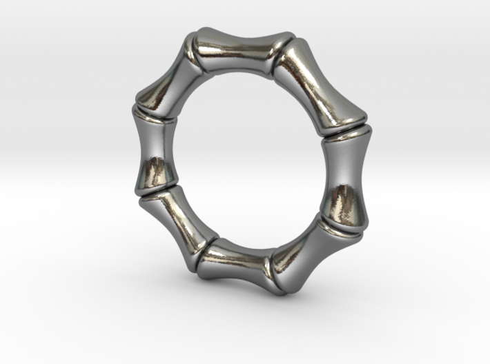 bamboo 5mm Ring 3d printed