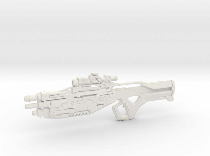 1:12 M-13 Raptor Sniper Rifle - Mass Effect 3d printed