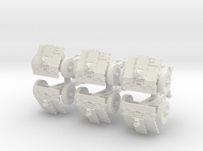 LeIg 18 support gun (6 pieces) 1/56 3d printed