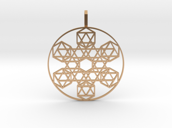 Etheric Reflector (Flat) 3d printed