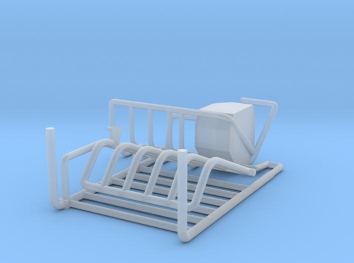 1/64 Robot milker LH-4 Gate set 3d printed