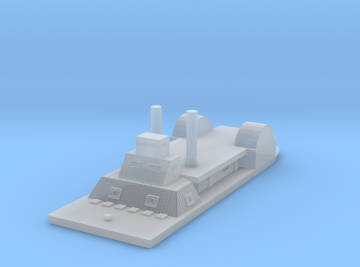 1/1000 USS Chillicothe 3d printed