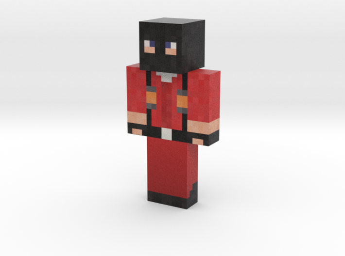 JasonGrant_RED   Minecraft toy 3d printed