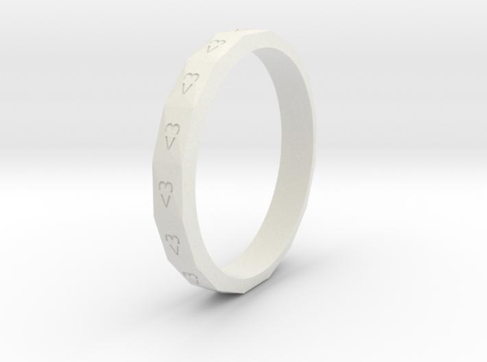 Digital Heart Ring 3 3d printed