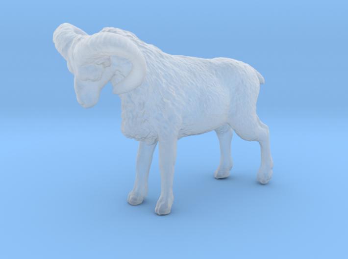 N Scale (1:160) Bighorn Sheep Ram 3d printed