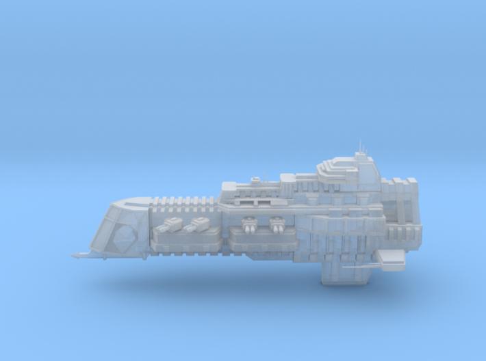 Imperial Legion Cruiser - Concept 1 3d printed