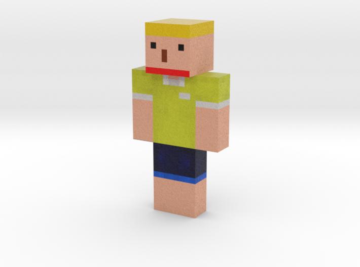 dlwnsgurdl33 | Minecraft toy 3d printed