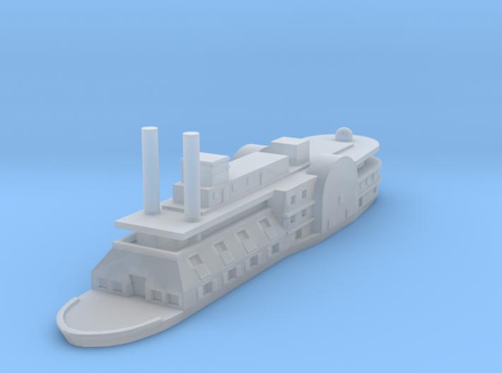 1/1200 USS Black Hawk 3d printed