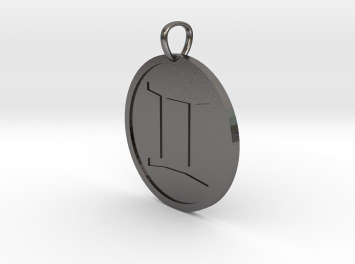 Gemini Medallion 3d printed