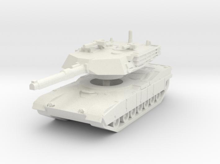 M1A1 Abrams Tank 1/120 3d printed