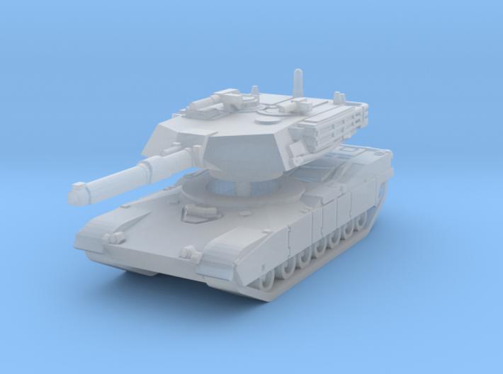 M1A1 Abrams Tank 1/200 3d printed