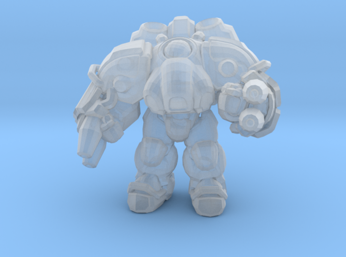 Starcraft 1/60 Terran Firebat Armored Soldiersmall 3d printed