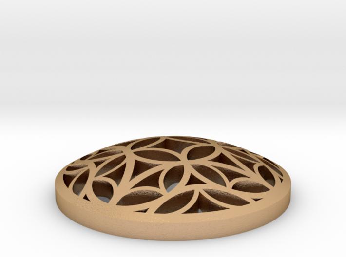 Tessellate Pommel Marker 3d printed