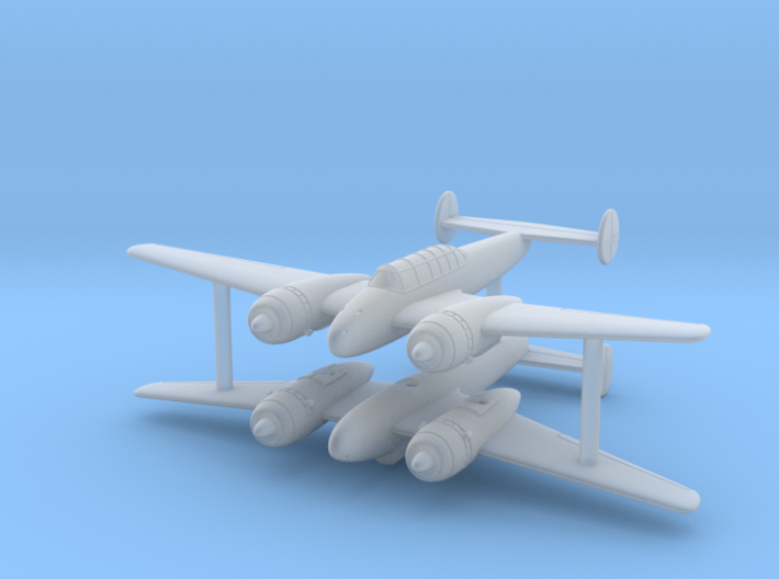 1/285 (6mm) Kogiken Plan II (x2) 3d printed