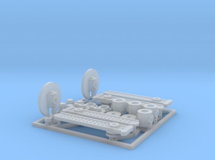 Semaphore Kit 1/48 3d printed