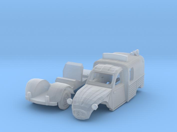 Citroën 2CV AZU Wegenwacht (N 1:160) 3d printed