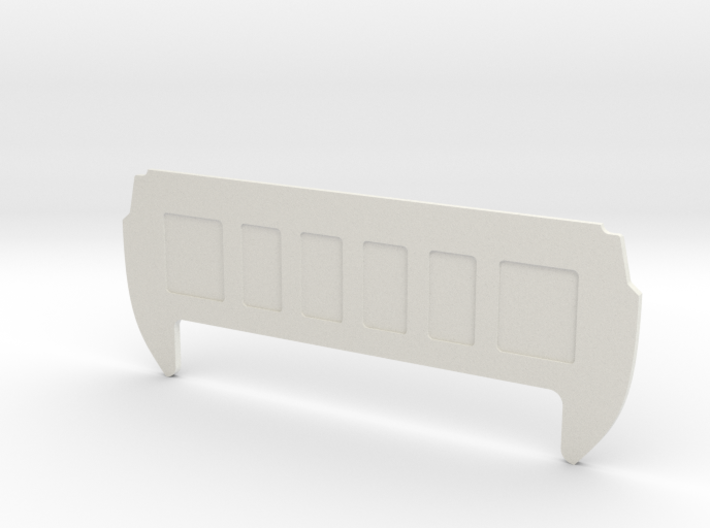 Rear Cab Panel for RC4WD K5 Blazer Body 3d printed