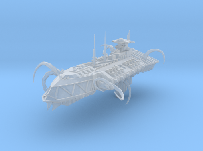 Possessed Chaos Cruiser - Concept 2 3d printed