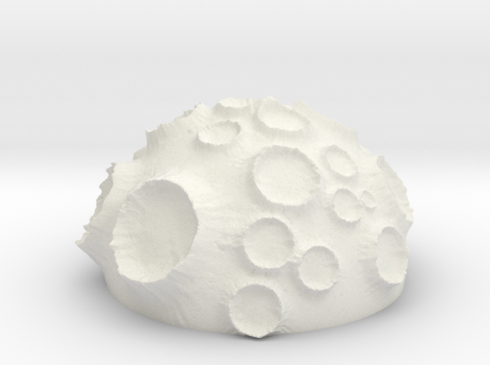 ! - Volcanic Crater Planet 3d printed