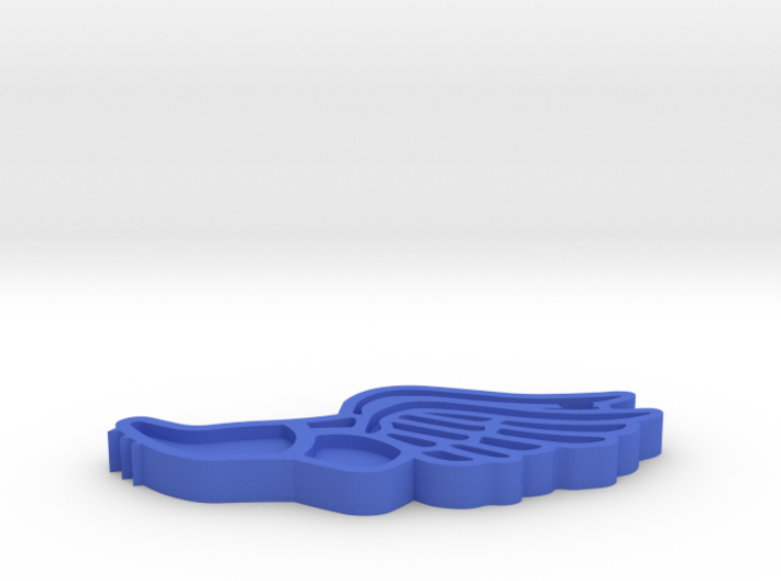 LC Track and Field Keychain (2019) 3d printed