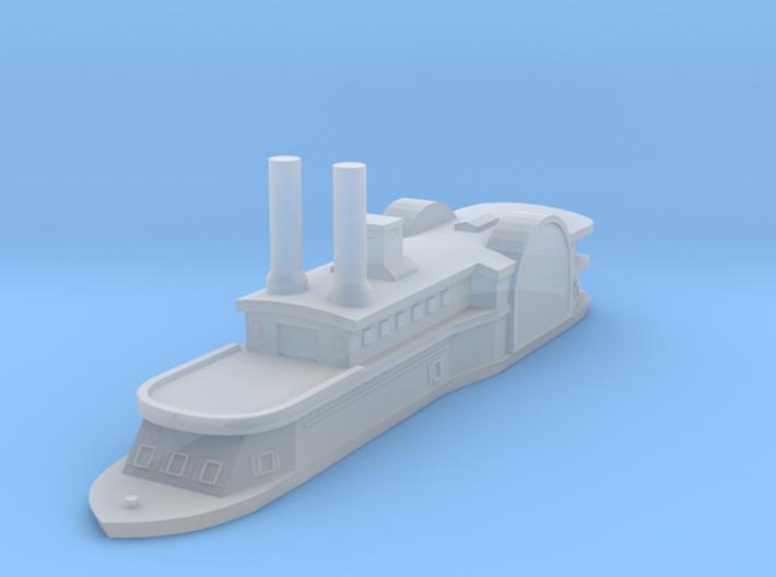 1/1000 USS Peosta 3d printed