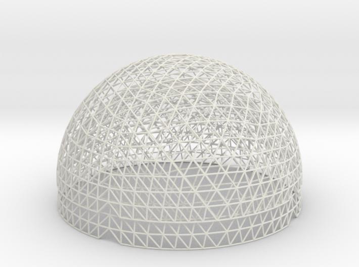 Geodesic Hemisphere, 16 freq 3d printed