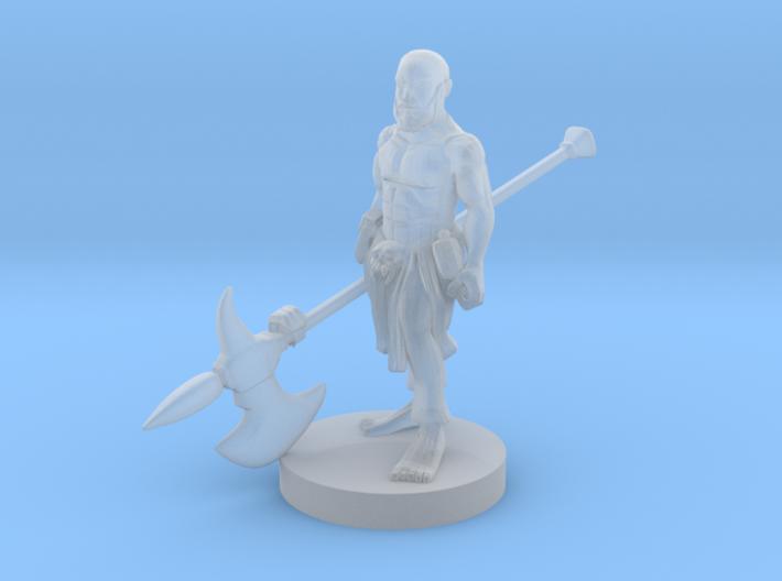 Halfling Barbarian 3 3d printed