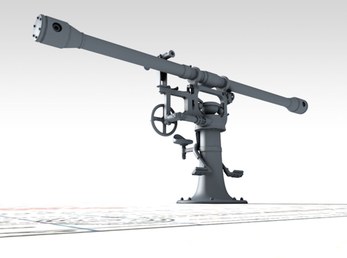1/48 Royal Navy 12ft Rangefinder Type F.Q.2 x1 3d printed 3d render showing product detail