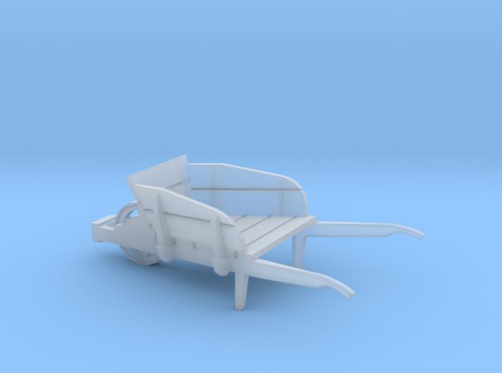 wheel barrow OO scale 3d printed