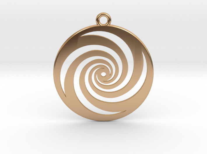 Golden Phi Spiral 3d printed